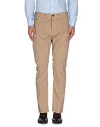 Frankie Morello Trousers Casual Trousers Men Beige