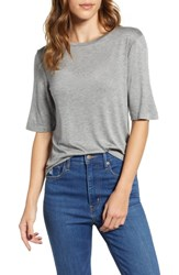 Project Social T Romee Tee Heather Charcoal