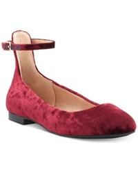Inc International Concepts Fayena Flats Created For Macy's Women's Shoes Merlot