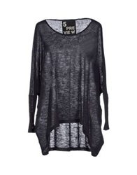 5Preview Sweaters Steel Grey