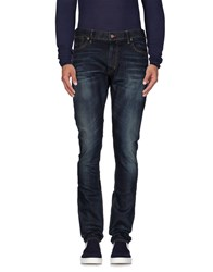 Ralph Lauren Black Label Denim Denim Trousers Men Blue