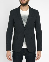 Ikks Grey Plain Effect Jacket