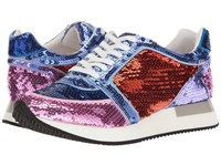 Katy Perry The Lena Blue Combo Sequin Women's Shoes Multi