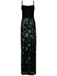 A La Garconne Sequin Embroidered Gown Unavailable