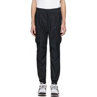 John Elliott Black Sateen Cargo Pants