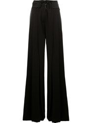 Ann Demeulemeester Belted Palazzo Pants Black