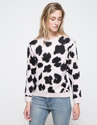 Cheap Monday Shaw Leo Sweat Leopard Pink