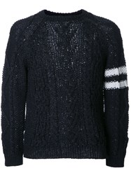 Coohem Mix Fancy Alan Jumper Blue