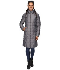 The North Face Metropolis Parka Ii Graphite Grey Heather Women's Coat Gray