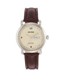 Jack Spade Stilwell Cream Watch 38Mm Chocolate