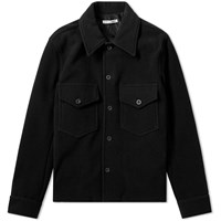 Our Legacy Loan Melton Wool Jacket Black