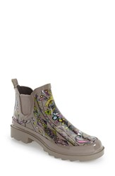Women's Sakroots 'Rhyme' Waterproof Rain Bootie Sterling Spirit Desert