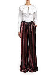Alexis Mabille Victorian Top White