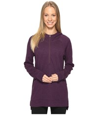 Lucy Om 1 2 Zip Pullover Blackberry Heather Women's Sweatshirt Purple
