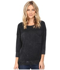 Mavi Jeans 3 4 Sleeve Sweater Black Women's Sweater