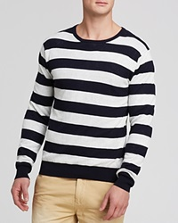 Scotch And Soda Double Layer Mesh Knit Sweater