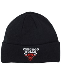 Adidas Chicago Bulls Cuff Knit Hat Black