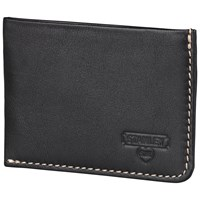 Stanley Leather Card Holder Black