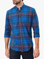 Joules Welford Check Shirt Navy Multi Check