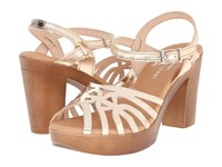 Eric Michael Rosie Gold High Heels