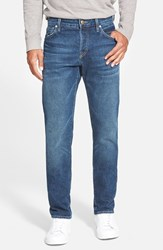 Men's Agave 'Maverick' Slim Fit Selvedge Jeans Indigo Vintage