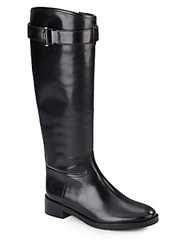 Tory Burch Grace Leather Knee High Riding Boots
