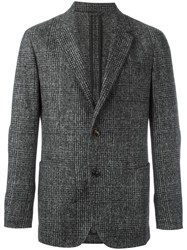 Ermenegildo Zegna Two Button Blazer Grey