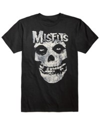 Fea Misfits Graphic Print T Shirt Black