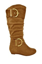 Twisted Tara Tall Boot Wide Width Available Brown
