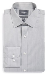 Bonobos 'Daily Grind' Slim Fit Wrinkle Free Herringbone Dress Shirt Light Blue