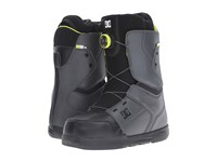 Dc Scout Dark Shadow Black Lime Men's Snow Shoes Gray