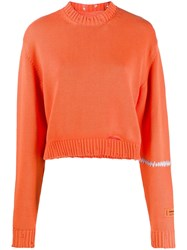Heron Preston Distressed Knitted Jumper 60