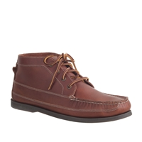 Men's Sperry Top Sider For J.Crew Leather Chukka Boots Burnished Mahogany
