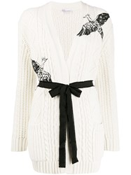 Red Valentino Bird Embroidered Cardigan 60