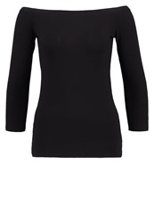 Patrizia Pepe Long Sleeved Top Nero Black