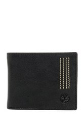 Timberland Leather Sport Quad Passcase Black