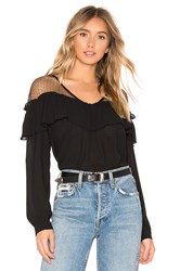 Heartloom Lucille Top Black