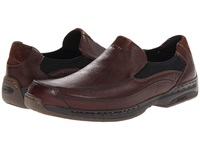 Dunham Wade Slip On Brown Men's Shoes