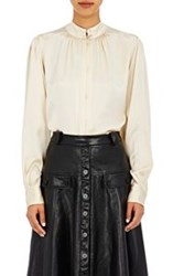 Maison Mayle Charmeuse Blouse Colorless