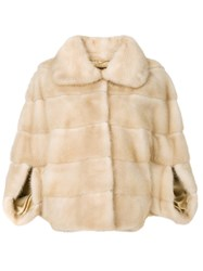 Liska Romea Fur Jacket Brown