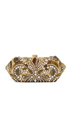 Santi Embellished Clutch Gold