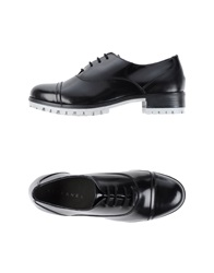 Stefanel Lace Up Shoes Black