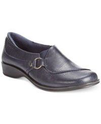 Easy Street Shoes Easy Street Grade Flats Women's Shoes New Navy