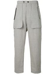 Lost And Found Ria Dunn Relax Fit Casual Trousers Grey