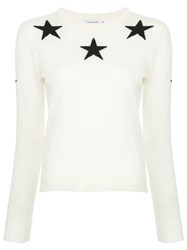 Guild Prime Star Patterned Sweater White