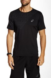 Asics Crew Neck Motion Dry Tee Black