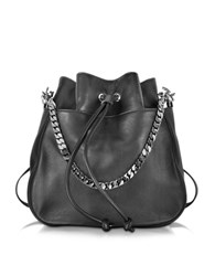 Dsquared Babe Wire Black Leather Backpack