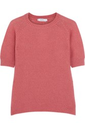 Max Mara Alaska Cashmere And Silk Blend Sweater Pink