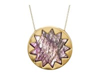 House Of Harlow Sunburst Pyramid Pendant Necklace Gold Necklace