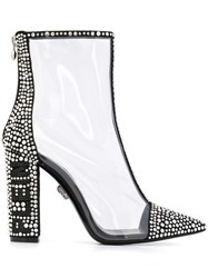 Philipp Plein Crystal Embellished 105Mm Boots 60